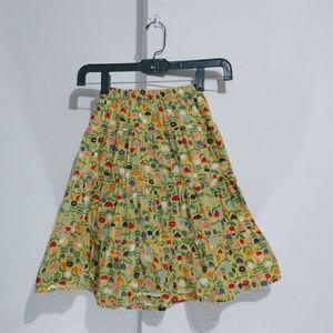 Hanna floral skirt Size 110  Cotton